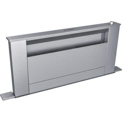800 Series 30 in. Telescopic Downdraft System in Stainless Steel, Blower Sold Separately