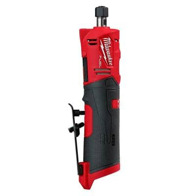 M12 FUEL 12-Volt Lithium-Ion Brushless Cordless 1/4 in. Straight Die Grinder (Tool-Only)