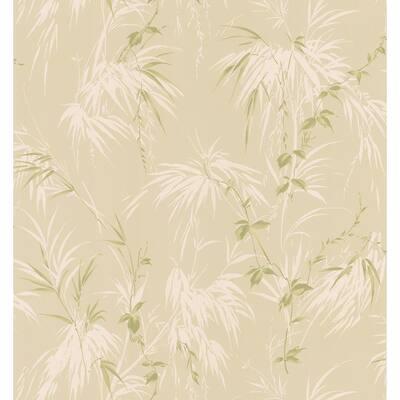 Fern Tan Wallpaper Sample