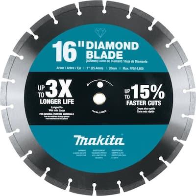 16 in. Diamond Blade, Segmented, General Purpose