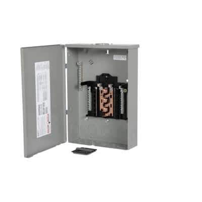 PN Series 125 Amp 12-Space 24-Circuit Main Lug Plug-On Neutral Load Center Outdoor with Copper Bus
