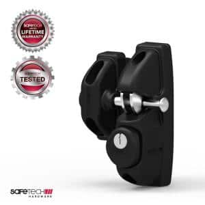Safetech Pedestrian Gate Latch with Dual Access