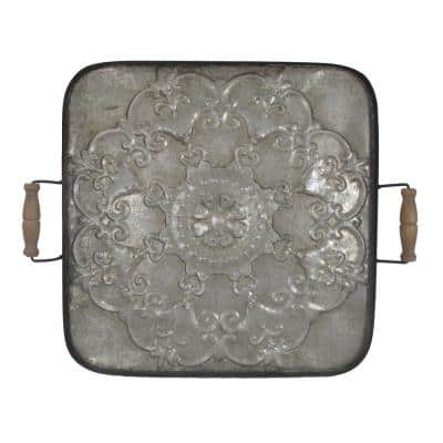 Fabius Square Antique Tray