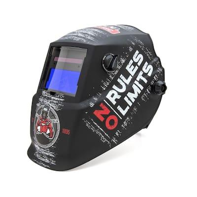 No Rules No Limits Variable Shade Auto-Darkening Welding Helmet