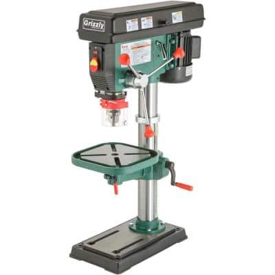 12 Speed Heavy-Duty Bench-Top Drill Press