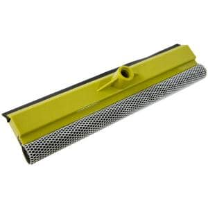 14.5 in. Car Window Squeegee and Washer Auto Squeegee for use with Threaded Extension Pole (Extension Pole Not Included)