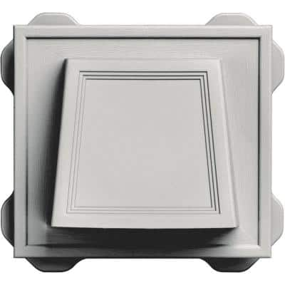 4 in. Hooded Vent #030-Paintable