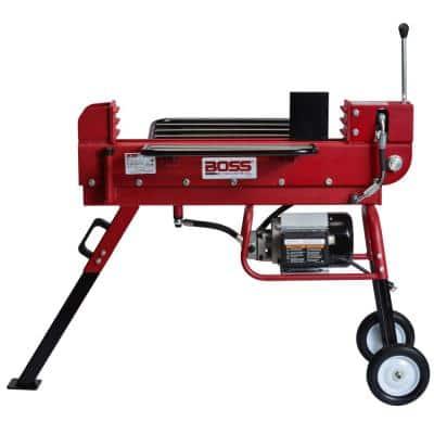 10-Ton 15 Amp Electric Dual Direction Log Splitter