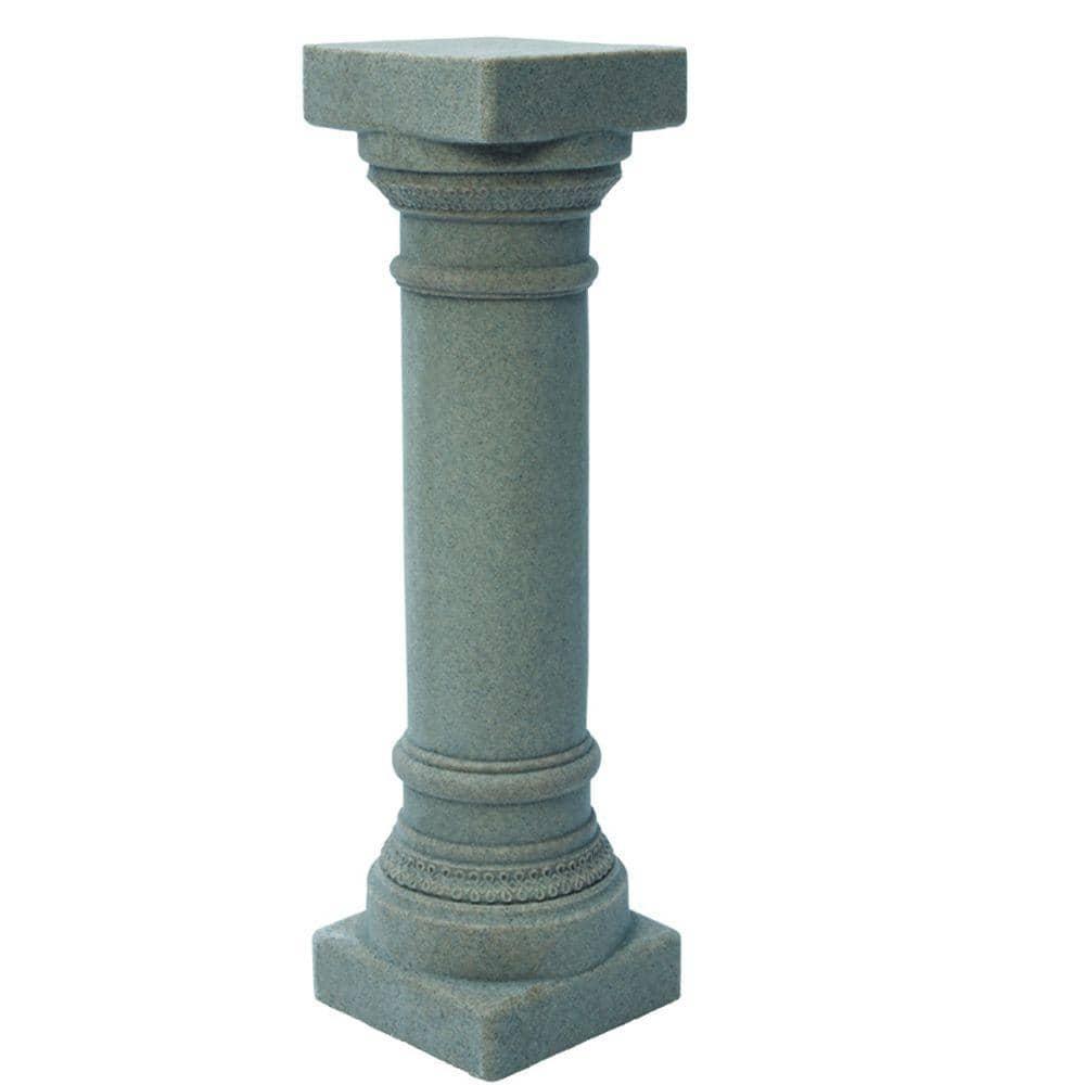 Column Statue Concrete sculpture Garden Statue pedestal Column Round Pedestal Concrete Column Ornament Statue Concrete Pedestal
