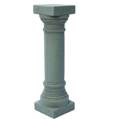 32-1/8 in. Grey Greek Column