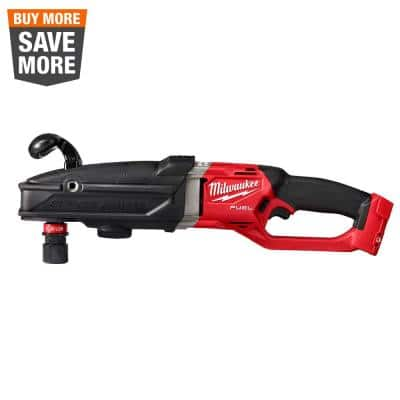 M18 FUEL 18-Volt Lithium-Ion Brushless Cordless GEN 2 SUPER HAWG 7/16 in. Right Angle Drill (Tool-Only)