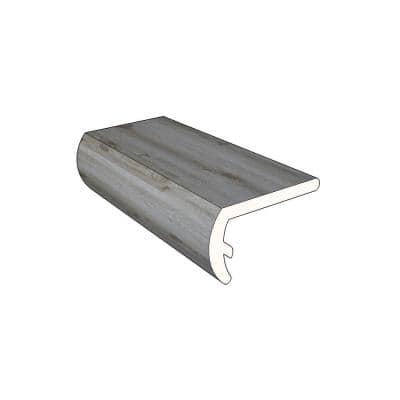 Windswept 1.16 in. Thick x 2.07 in. Wide x 72.05 in. Length Vinyl Stair Nose Molding