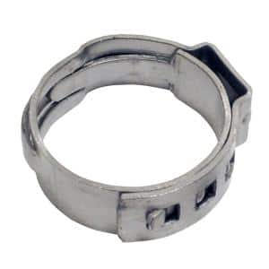 1 in. Stainless Steel PEX Barb Pinch Clamp (10-Pack)