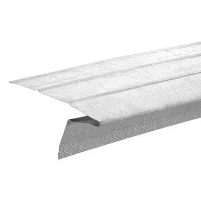 2-3/8 in. x 1 in. x 10 ft. Galvanized Steel Eave Drip Flashing