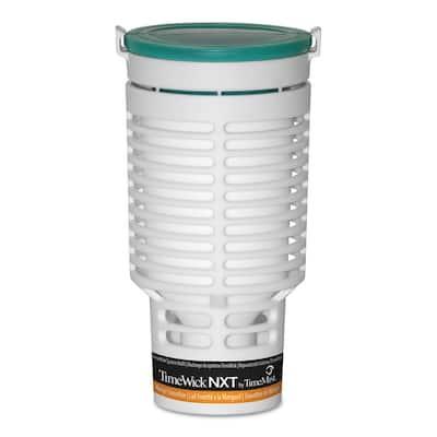 TimeWick NXT Continuous Passive Automatic Air Freshener Refill, Mango Smoothie, 0.77 oz., 6/Carton