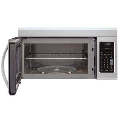 1.8 cu. ft. Over-the-Range Microwave with Sensor Cook and EasyClean in PrintProof Stainless Steel