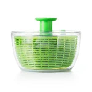 Good Grips Salad Spinner with Pump in Green