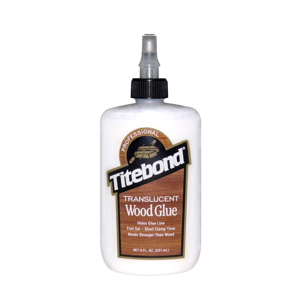 8 oz. Translucent Wood Glue (12-Pack)