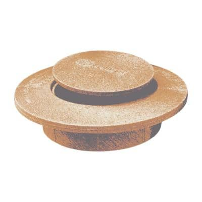 4 in. Plastic Pop-Up Drainage Emitter Replacement Top, Sand