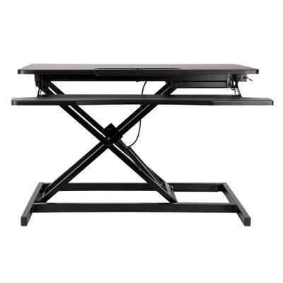 30.75 in. W Convertible Standing Desk, Black