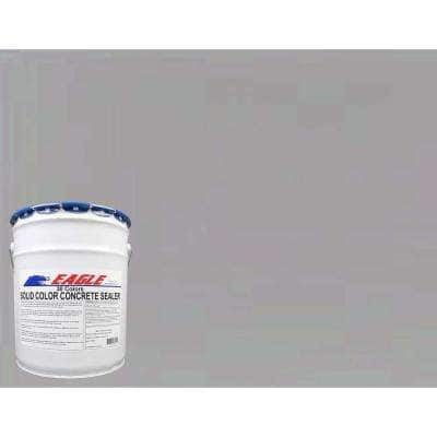 5 gal. Gull Gray Solid Color Solvent Based Concrete Sealer