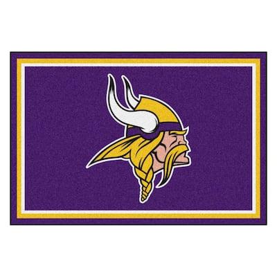 Minnesota Vikings 5 ft. x 8 ft. Area Rug