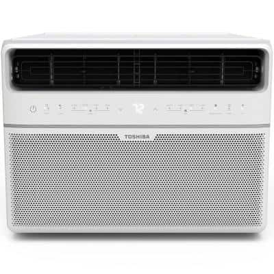 12,000 BTU 115-Volt Smart WiFi Touch Control Window Air Conditioner with Remote and ENERGY STAR in White
