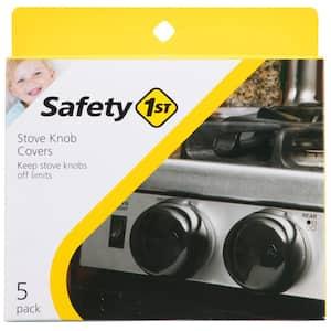 Stove Knob Covers Decor Door Lock (5-Pack)