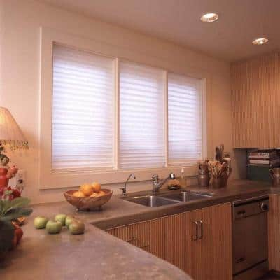 White Paper Light Filtering Window Shade - 36 in. W x 72 in. L
