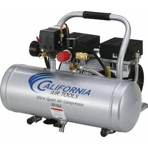 2.0 Gal. 1.0 HP Ultra Quiet and Oil-Free Aluminum Tank Air Compressor