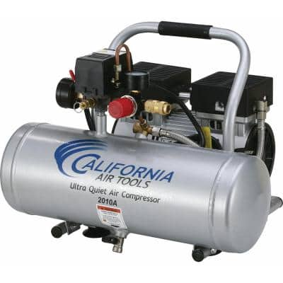 2.0 Gal. 1.0 HP Ultra Quiet and Oil-Free Aluminum Tank Air Compressor