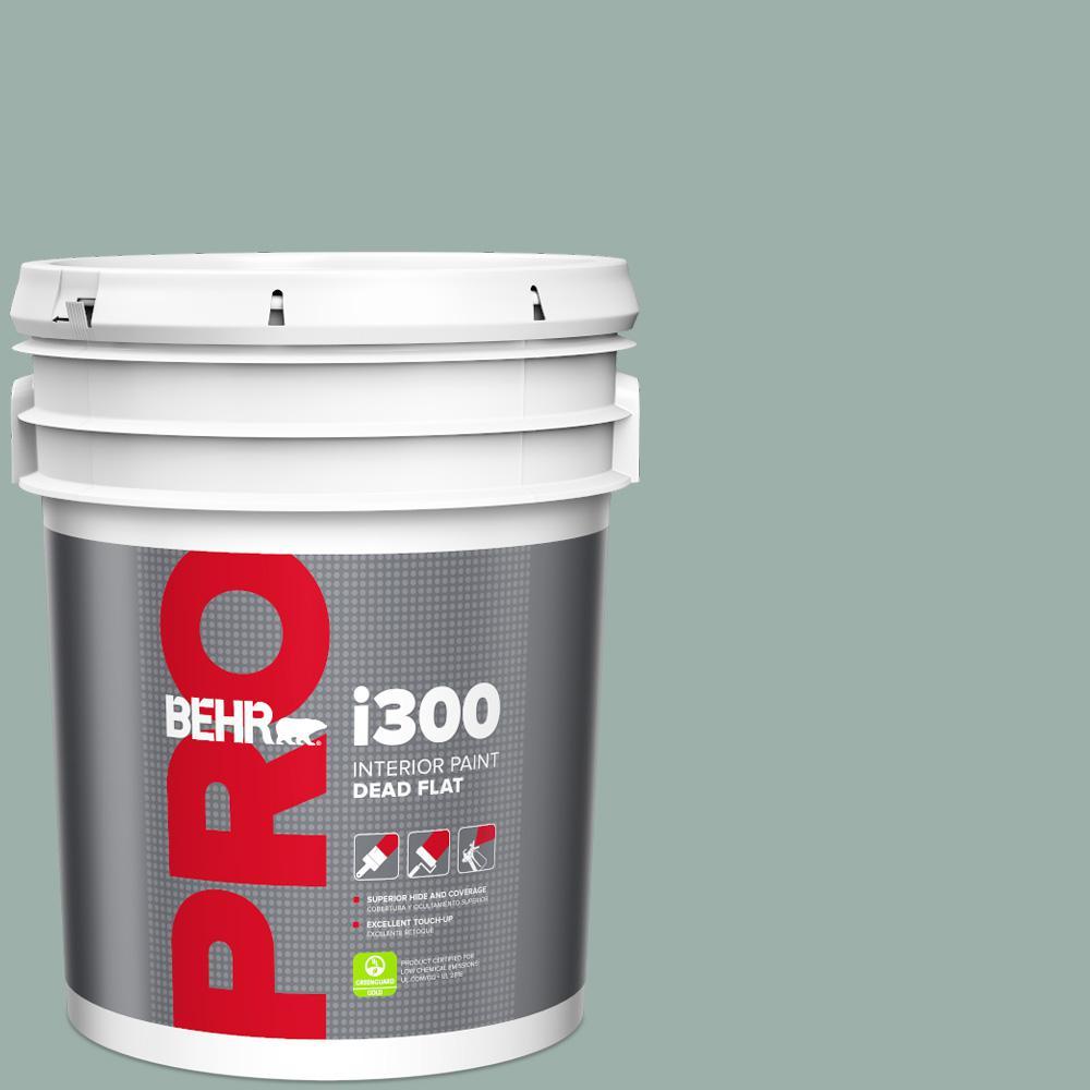 Behr Pro 5 Gal 490f 4 Gray Morning Eggshell Interior