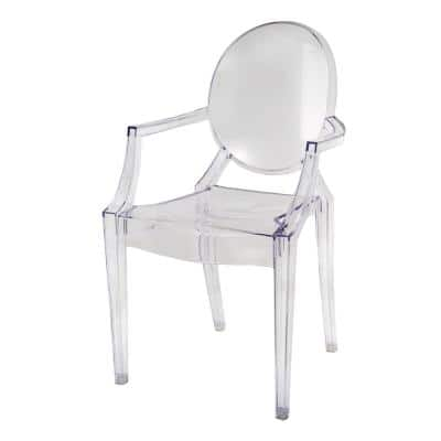 Atelier Clear Polycarbonate Chair