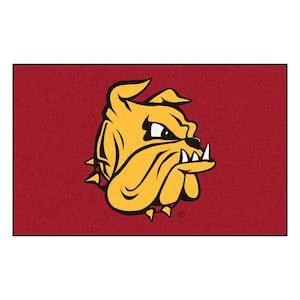 NCAA University of Minnesota Duluth Maroon 5 ft. x 8 ft. Area Rug