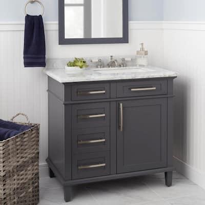 Teapot 8 in. Widespread 2-Handle Low-Arc Bathroom Faucet in Brushed Nickel