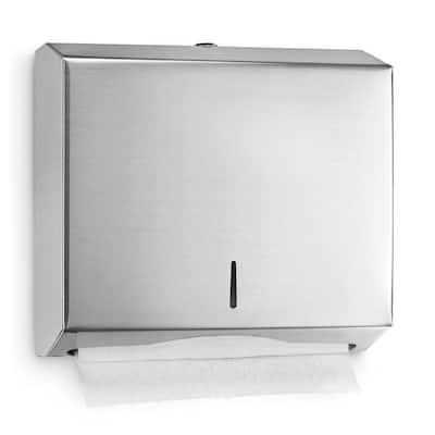 Stainless Steel Multi-Fold/C-Fold Paper Towel Dispenser