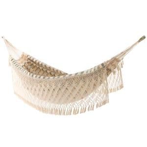 13 ft. Authentic Brazilian Cotton Luxury Hammock Bed in Honey Island