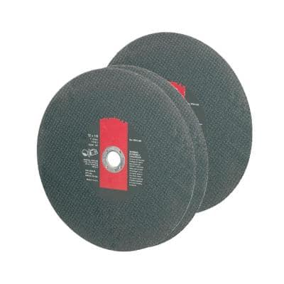 14 in. x 1/8 in. Premium Abrasive Blade for Hand Held Metal Cutting Saws