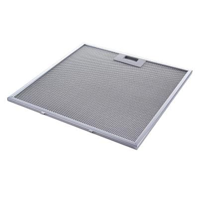 12.5 in. X 11.04 in. Aluminum Mesh Grease Filter with Stainless Steel Frame for Range Hood