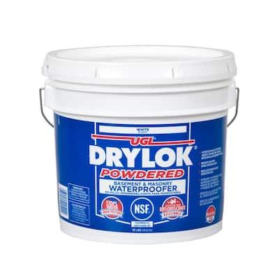 35 lb. White Interior/Exterior Powdered Basement and Masonry Waterproofer