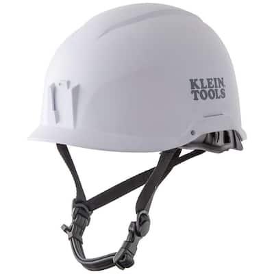 Safety Helmet, Non-Vented-Class E, White