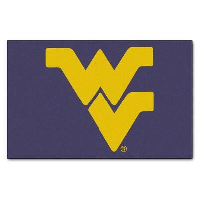 West Virginia University 5 ft. x 8 ft. Ulti-Mat