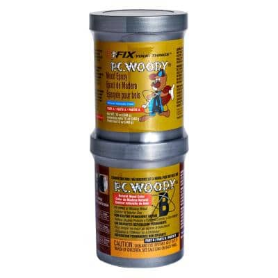 12 oz. PC-Woody Wood Epoxy Paste