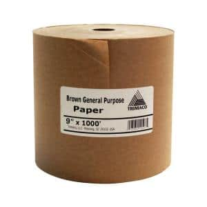 Easy Mask 9 IN. X 1000 FT. Brown General Purpose Masking Paper