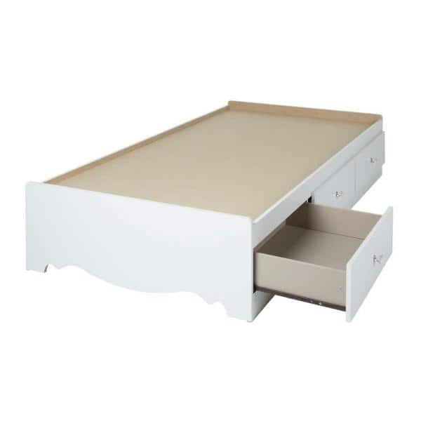 South Shore Crystal Twin Kids Storage Bed   The Home Depot