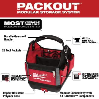 10 in. PACKOUT Tote