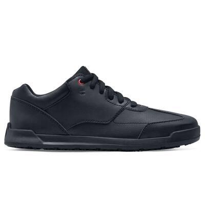 Women's Liberty Slip Resistant Athletic Shoes - Soft Toe - Black Size 5.5(M)