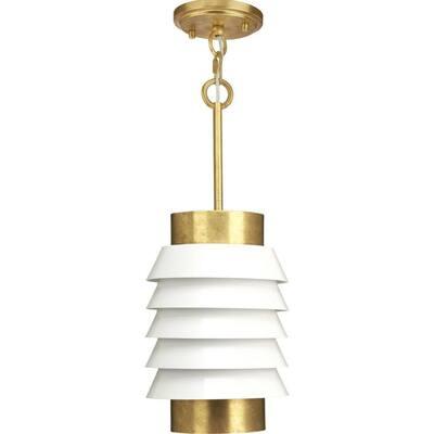 Jeffrey Alan Marks 1-Light Brushed Brass Onshore Pendant
