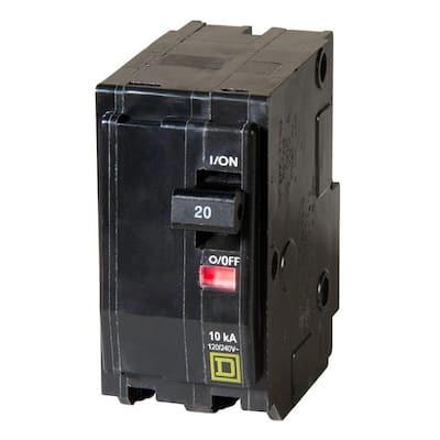 QO 20 Amp 2-Pole Circuit Breaker (6-pack)