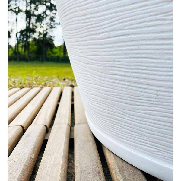 Floridis Amsterdan Extra Small White Resin Planter Bowl 10 16 0217 The Home Depot